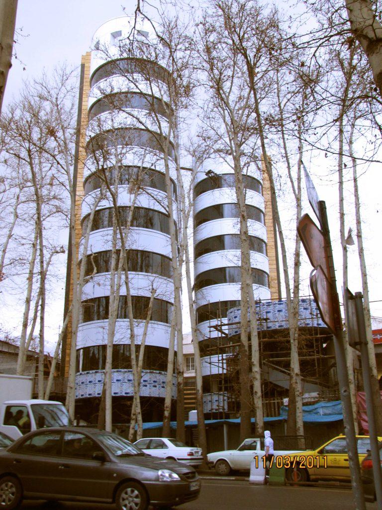 تصویر پروژه برج دوقلو تجریش